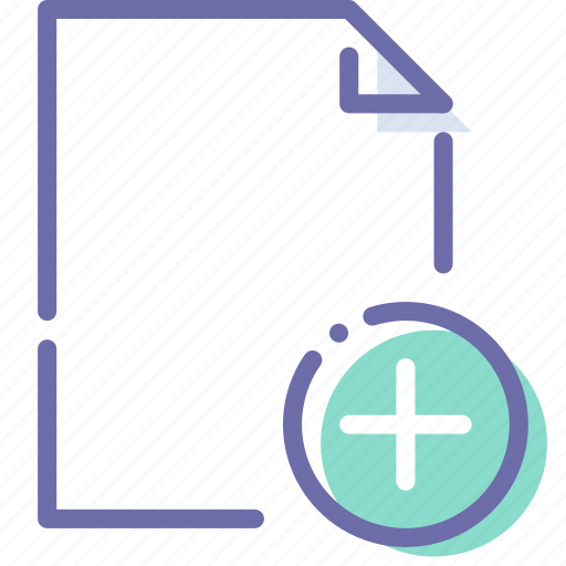 Add, document, file, paper icon - Download on Iconfinder