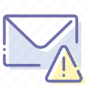 message, alert, email, mail icon