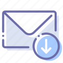 download, mail, message, send icon