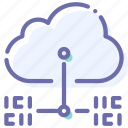 cloud, data, internet, transfer icon