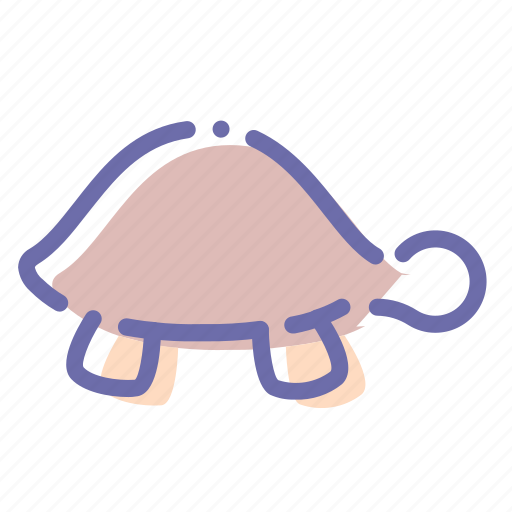 Animal, slow, turtle icon