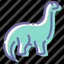 brontosaurus, dinosaur, diplodocus, sauropod