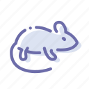 micky, mouse, rat, rodent icon