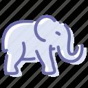 animal, bishop, elephant, mammal