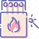 fire, matches, outdoor, wild