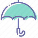 security, antivirus, protection, umbrella icon