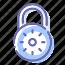 lock, padlock, password, security