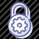 security, settings, lock, padlock