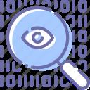 encryption, search, data, eye