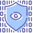code, data, eye, protection icon