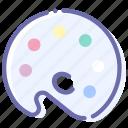 mixer, colors, palette, color