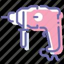 drill, perforator, repair, tool
