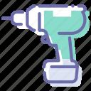 cordless, drill, screwdriver, tool