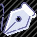 draw, freeform, pen, tool icon