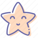 magical, twinkle, star, night icon