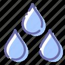 drops, rain, weather, wet