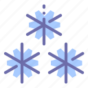 frost, snow, snowflakes, weather