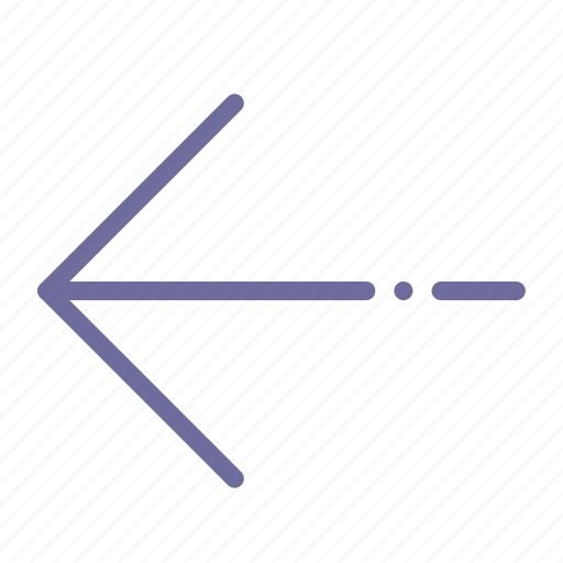 arrow, left, prev, sign icon