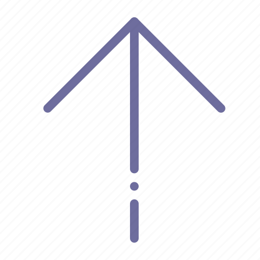 arrow, sign, up icon