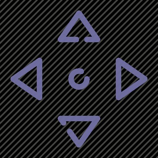 arrow, drag, move, navigate icon