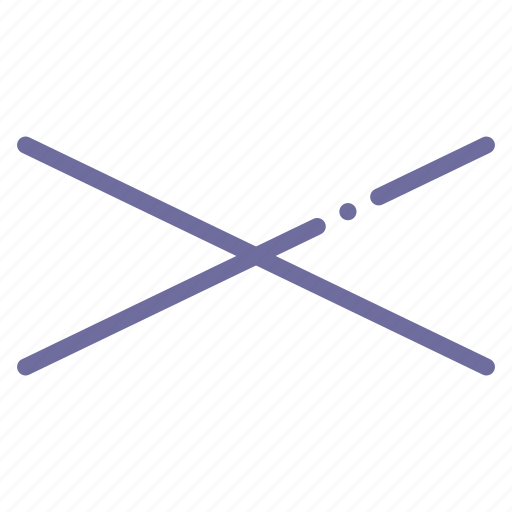 arrow, compressed, cross, sign icon