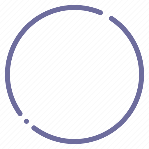 cicrcle, round, sign icon