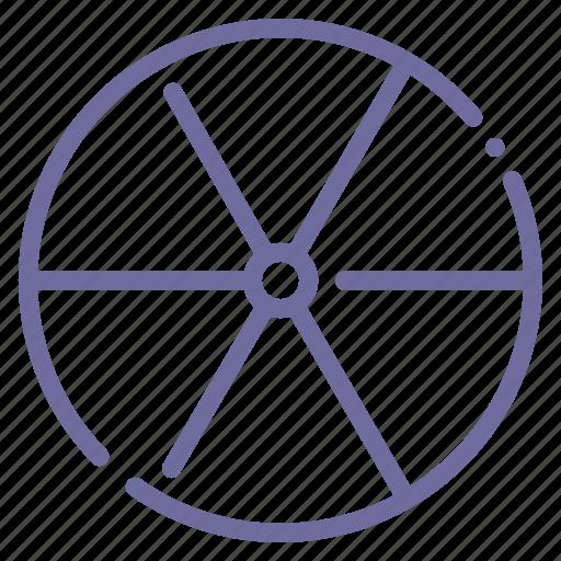 atomic, nuclear, radiation, radioactivity icon