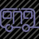 car, trailer, travel, wagon icon