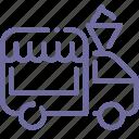 car, shop, store, wheels icon