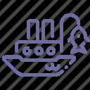 fisherman, marine, ship, vessel icon