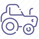 agrimotor, industrial, tractor, wheels icon