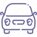 auto, beetle, car, front icon