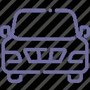 auto, car, front, pickup icon