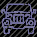 car, jeep, offroad, safari icon