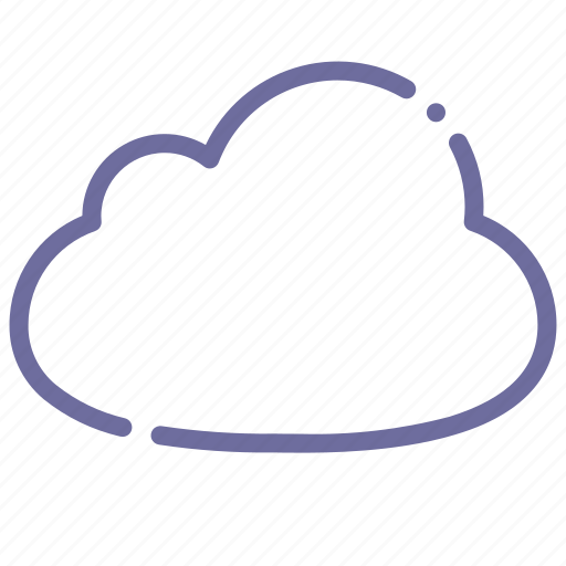 cloud, cloudiness, cloudy, overcast icon