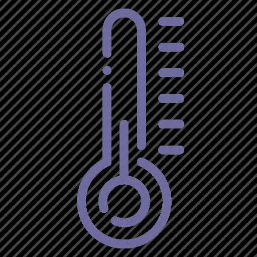 control, temperature, thermometer, weather icon