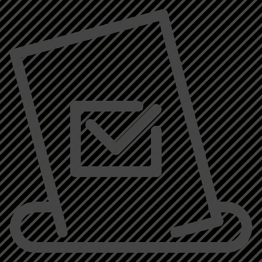 bulletin, choice, democracy, election, politic, referendum, voting icon