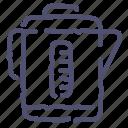 electric, kettle, kitchen, teapot icon
