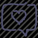 love, message, romance