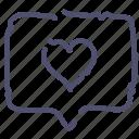 love, message