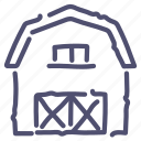barn, farm, storage, storehouse icon