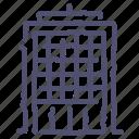 building, commercial, company, skyscraper icon
