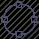 anchor, path, points, shape, transform icon