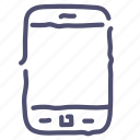 call, contact, device, phone, smartphone icon