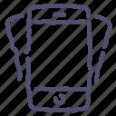 device, iphone, mobile, phone, smartphone, tilt