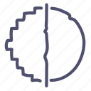 antialiasing, digital, filter, quality icon