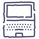 desktop, device, laptop, screen icon