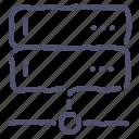 backup, data, database, server icon