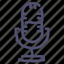 audio, broadcast, mic, microphone, record