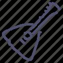 balalaika, instrument, music